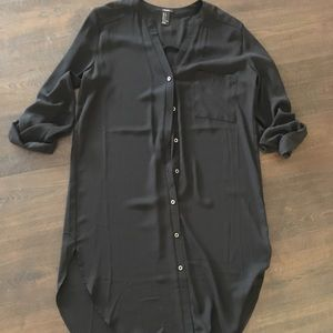Black business T-shirt Dress